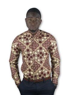 African Clothing Ankara Shirt Style Fashion Afro Pocket Mens Fashion, Style Fashion, African Fashion, Afro, Shirt Style, Men Sweater, Shirt Dress, Trending Outfits, Ankara
