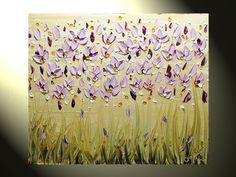 Original Abstract Painting Textured Impasto by ChristineKrainock, $175.00