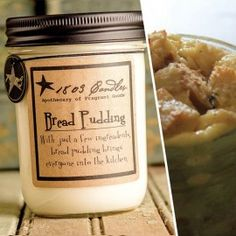 Bread Pudding Soy Jar Candle