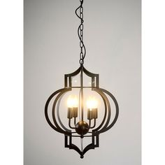 The Addison 4-light Black-finished Chandelier will absolutely look stunning in your dining room, living room, bed room, foyer, or anywhere else in the home. This light fixture features an intricate cu