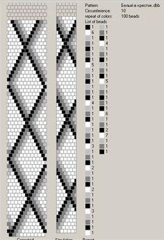 The photo – crochet pattern Bead Crochet Patterns, Bead Crochet Rope, Seed Bead Patterns, Beaded Jewelry Patterns, Beading Patterns, Beading Tutorials, Crochet Beaded Necklace, Crochet Bracelet, Diy Jewelry