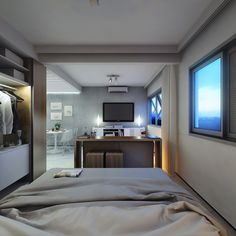 2 Super Small Apartments Under 30 Square Meters (~325 square feet) [Includes Floor Plans]