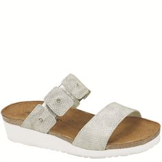 Naot Women's Ashley from the Elegant Collection in it's new color, Silver Snake! Available in more colors! #Naot #NaotFootwear #Comfort #Fashion #Sandals #WomensFashion #SpringHasSprung