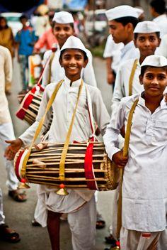 To The Beat Of The Drum Bang... Warkaris, Maharashtra