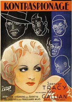 María Galante (Marie Galante) - Spencer Tracy, Ketti Gallian y Stepin Fetchit. 1934 - Película completa en Español.