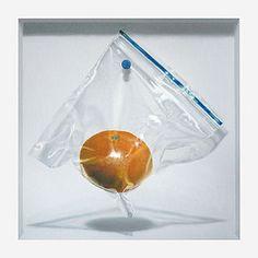 Asfixia (Daniel Caro.) Tags: bolsa mandarina realismo oleo hiperrealismo