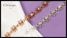 Wirework wedding bracelet ~ #Wire #Jewelry #Tutorials