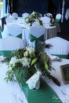 свадебное оформление в москве | Изумрудная Свадьба