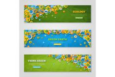 Eco banners. Infographic Elements. $6.00