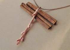 Hey, I found this really awesome Etsy listing at https://www.etsy.com/listing/251551718/twig-necklace-real-branch-woodland