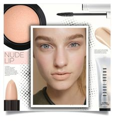 """""""Nude Lip"""" by tawnee-tnt ❤ liked on Polyvore featuring beauty, Serge Lutens, Bobbi Brown Cosmetics, Ellis Faas, MAC Cosmetics, BeautyTrend, makeup and nudelip"""