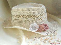 Patrón #794: Sombrero a Crochet