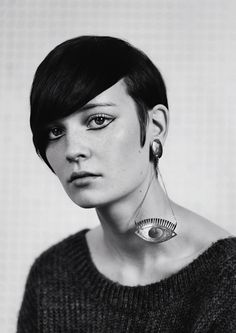 Claudia wearing Slim Barrett jewellery Photography by Mark Kean, Styling by Kim O'Neill
