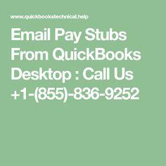 quickbooks email paystub