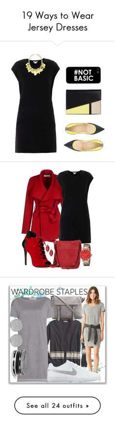 """""""19 Ways to Wear Jersey Dresses"""" by polyvore-editorial ❤ liked on Polyvore featuring jerseydress, waystowear, Helmut Lang, Forever New, BCBGMAXAZRIA, Christian Louboutin, BGN, Pour La Victoire, Paradox and Alexis Bittar"""