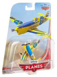 Disney Planes Gunnar Viking No. 12 Diecast Aircraft- jen