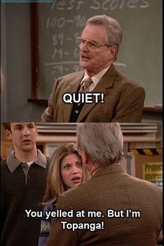 oh boy meets world. you never get old.