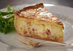 Keller's 'Bouchon Bakery' Quiche Lorraine recipe link:  http://www.cbsnews.com/news/the-dish-chef-thomas-kellers-bouchon-bakery-quiche-lorraine/