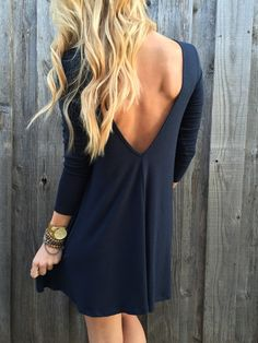Harmony Low Back Dress – Lola Jeannine