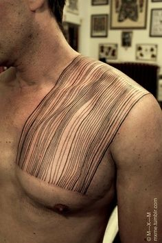 parallel line tattoos - Google Search