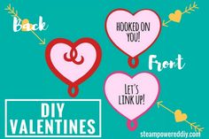 DIY Valentines for I