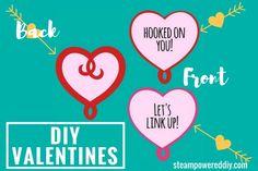 DIY Valentines for I