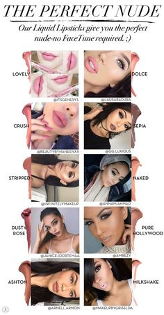 Beyond the Brow | Official Blog of Anastasia Beverly Hills - Nude Liquid Lipsticks