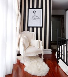 Chic bedroom.