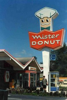 mr. donut -loved going to Mr Donut in key west when I was little.