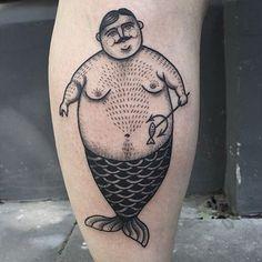 This chubby merman stole my heart! ❤️