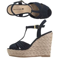 I kind of like these shoes as well, what do you think? I think the wedge is a little too high for me.