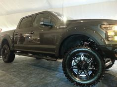 Ford Truck setup with Line-X protective coating and Truck Gear accessories. #LineX #SprayOnProtectiveCoating #Ford #BrandNew