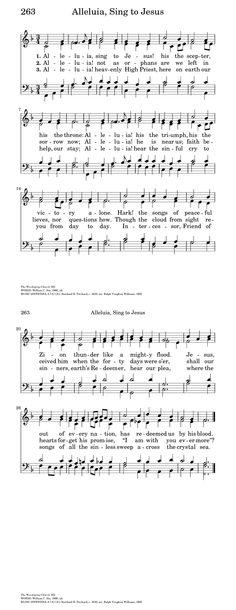 Free Lead Sheet – Christ The Lord Is Risen Today (Orientis Partibus ...