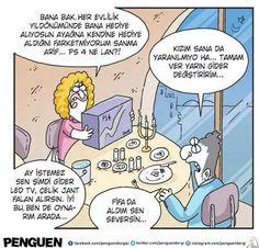 Kadın kıymet bilmiyor. PS4 kadar güzel bir hediye olabilir mi? = ) | #komik #Türkçe #karikatür