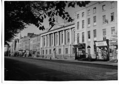 College of Surgeons and shops Oct 1953