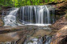 Weaver Creek Falls, Owen Sound, Ontario.
