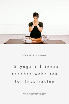 10 yoga teacher websites for inspiration — Wellness Site Shop Yoga With Adriene, Wellness Industry, Banner Images, Teaching Methods, Confidence Building, Health Coach, Yoga Teacher, Cool Websites, Business Tips