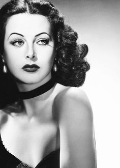 he's making violent love to me, mother!   — hollywoodlady:   Hedy Lamarr for The Heavenly...