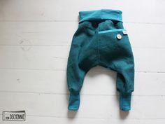 Hosen - ♥ Schmuckstück - Leichte petrol Leinen Pumphose ♥ - ein Designerstück…