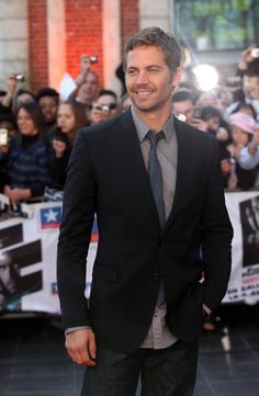 I could see Paul Walker as Christian Grey