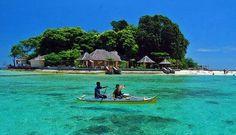 Samalona island, Makassar, Indonesia