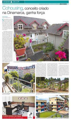 Matéria sobre Cohousing no Jornal de Piracicaba, entrevista com Rodrigo Munhoz (GUAXO Projetos Sustentáveis)
