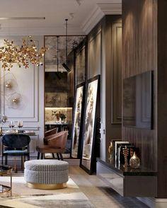 Interior Design Inspiration, Home Interior Design, Interior Architecture, Interior Decorating, Design Interiors, Decorating Ideas, Living Room Designs, Living Room Decor, Living Spaces