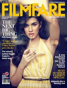 New Heroine Addiction: Watch Kriti Sanon fire up the Filmfare cover! | PINKVILLA