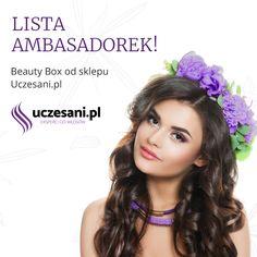 Lista ambasadorek boxów kosmetycznych od sklepu Uczesani.pl