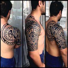 Tatuador Gustavo #tiki #tatau #tattoo #tatuagem #tattoomaori #tongatattoo #tattoopolynesian #samoatattoo #samoa…