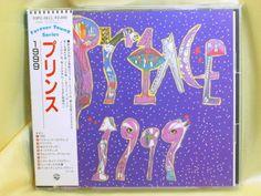 CD/Japan- PRINCE 1999 w/OBI RARE EARLY 1989 20P2-2611 WARNER-PIONEER 2000-yen #FunkDancePopFunkPop