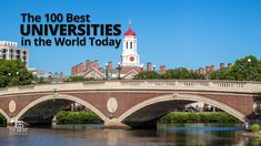 The 100 Best Universities in the World Today — The innovative guide to colleges and universities that excel on the world's stage University Rankings, World University, Best University, Top Universities, Colleges, Med School, College Fun, Student Life, Study Abroad