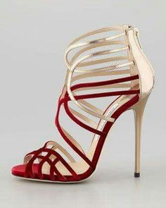 High Heels ~ Classic Look ~ Jimmy Choo ~ Maury Velvet and Leather Sandal Stilettos, Pumps, Stiletto Heels, Gold Heels, Dream Shoes, Crazy Shoes, Me Too Shoes, Pretty Shoes, Beautiful Shoes