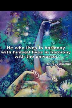 Marcus Aurelius Quotes: He who lives in harmony... Marcus #Aurelius Quote